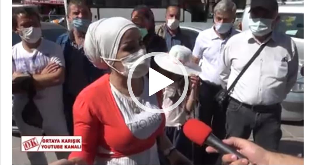 لاجئة سورية تتصدى لأتراك بحجة قوية …والسـ.ـبب اتهـ.ـام السوريين بـ.ـأزمة تركيا الاقتصادية (فيديو)