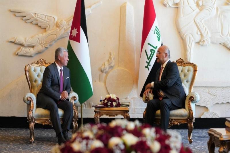 اجتماع طارئ بين الرئيس والملك لإقرار وفرص الحل في سوريا وإنهاء الحـ.ـرب