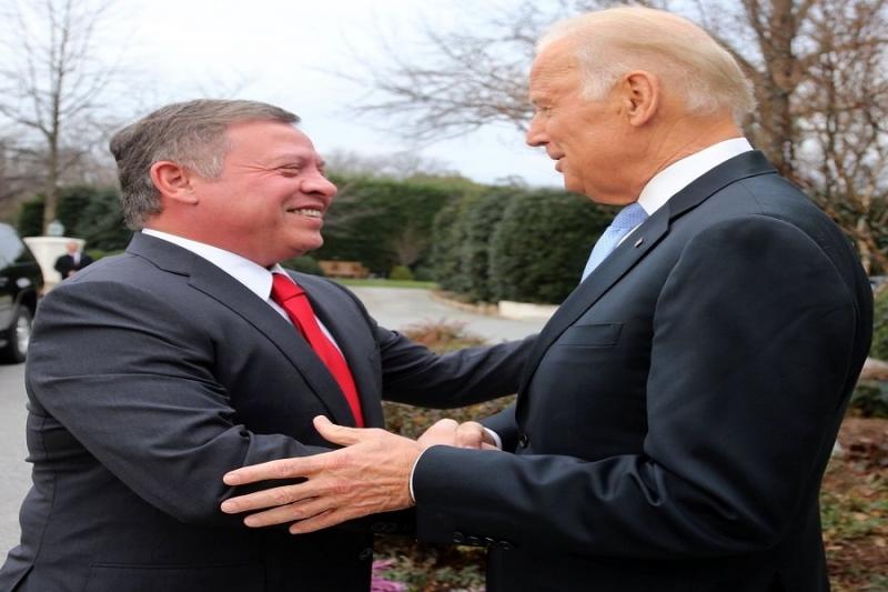 الملك عبد الله وبايدن يتحدثان عم حل قادم في سوريا وفق نقاط وخطة طريق
