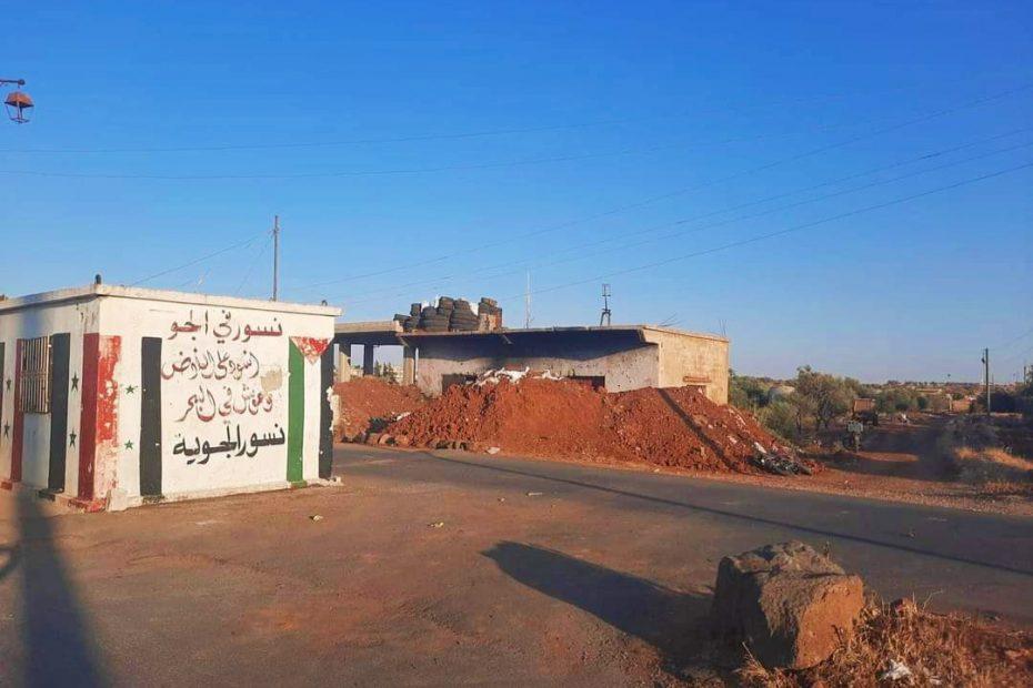 الجيش السوري ينسحب من 18 بلدة ويترك 127 حاجزاً الأسد يفقد السيطرة وماهر يتحرك من دمشق بفرقة جرارة