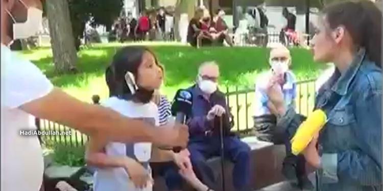 طفلة سورية تدافع عن السوريين في تركيا وترد بجـ.ـرأة على شابة تركية تهـ.ـاجمهم (فيديو)