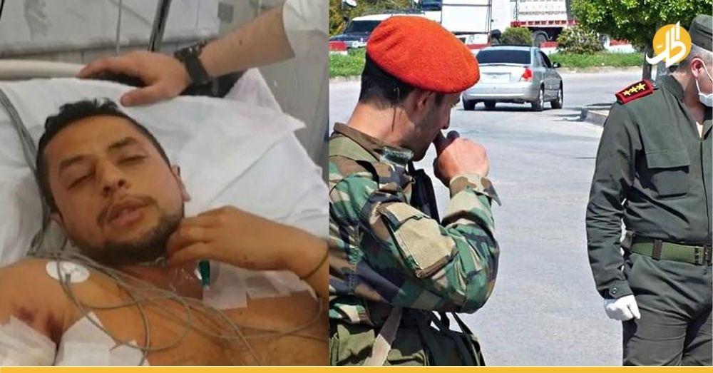 إعلامي موالي للأسد يناشد الشـ.ـرطة بعد ماحصل معه مؤخراً في مدينة حلب (فيديو)
