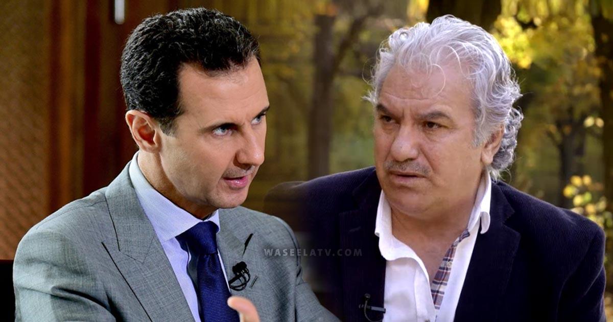 فنان سوري معارض يوجه معايدة خاصة لبشار الأسد في عيد ميلاده  الـ56