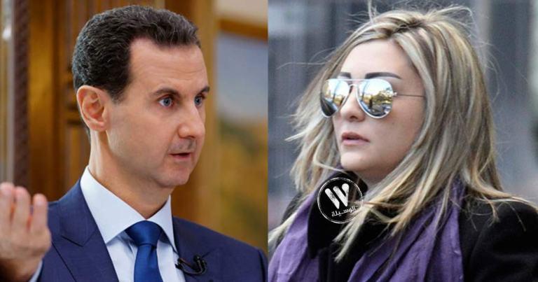لونا الشبل تعطي اوامرها لوزير الإعلام السوري خلال عشاء فاخر أقامته في قصرها بدمشق
