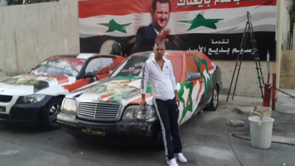 بطل من عائلة الأسد يظهر في المقصف بالزي الرسمي والقصر الجمهوري في خـ.ـطر (فيديو)