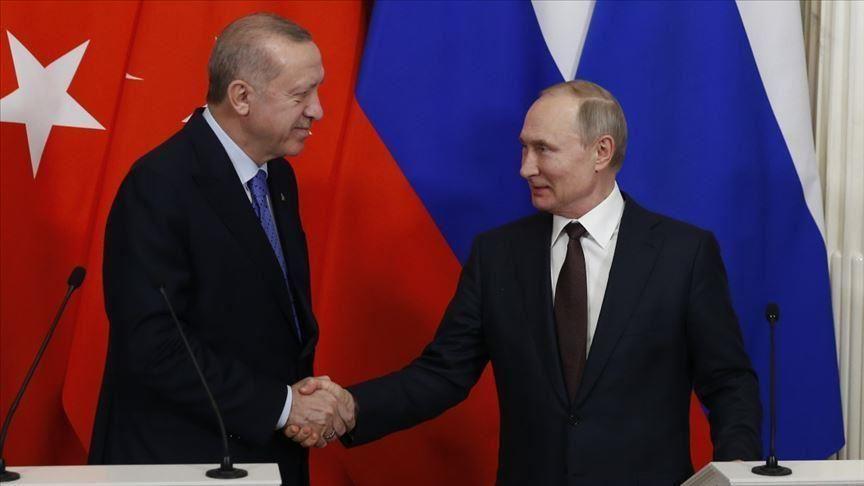 بعد لقاءه ببشار في موسكو بوتين يلتقي بالرئيس أردوغان ومصـ.ـير سوريا قد حسـ.ـم خلال اللقائين