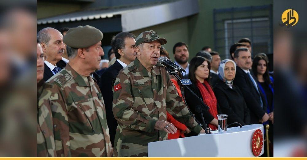 """""""14 سؤال إلى أردوغان"""" حزب تركي يعـ.ـارض تواجد قـ.ـوات بلاده في سوريا"""