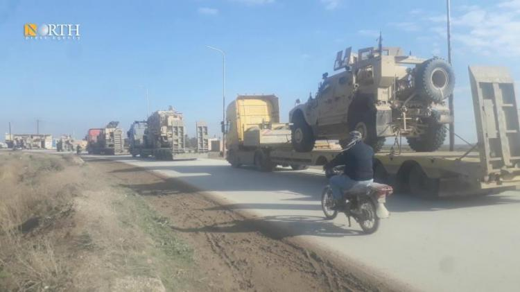 الأسطول الأميركي يصل إلى الأراضي السورية بعد اجتماع كبار الجنرالات بالرئيس بايدن وبدء التحـ.ـرك ضمن منـ.ـاطق محددة في خارطة سوريا